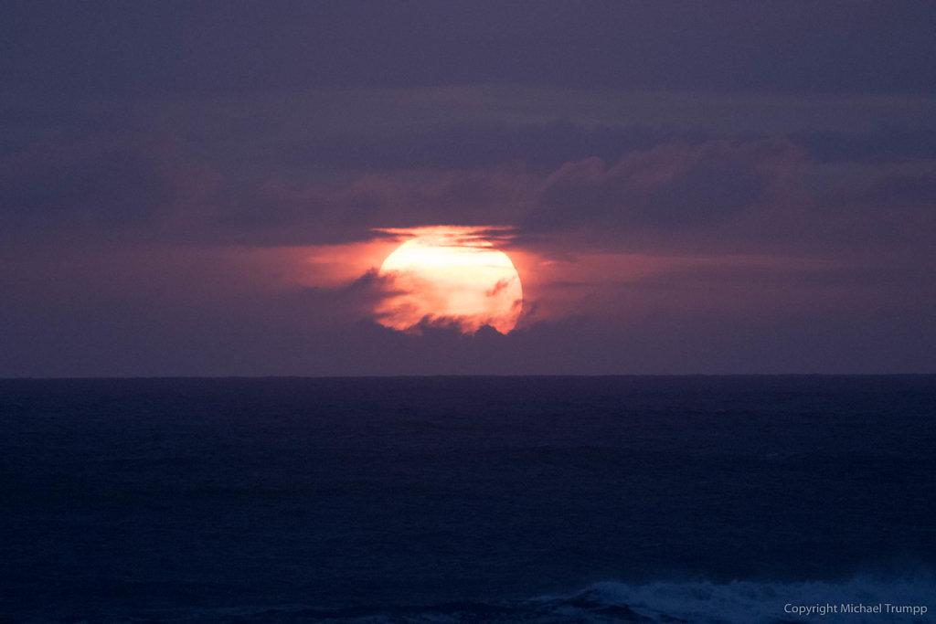 Sunset closeup