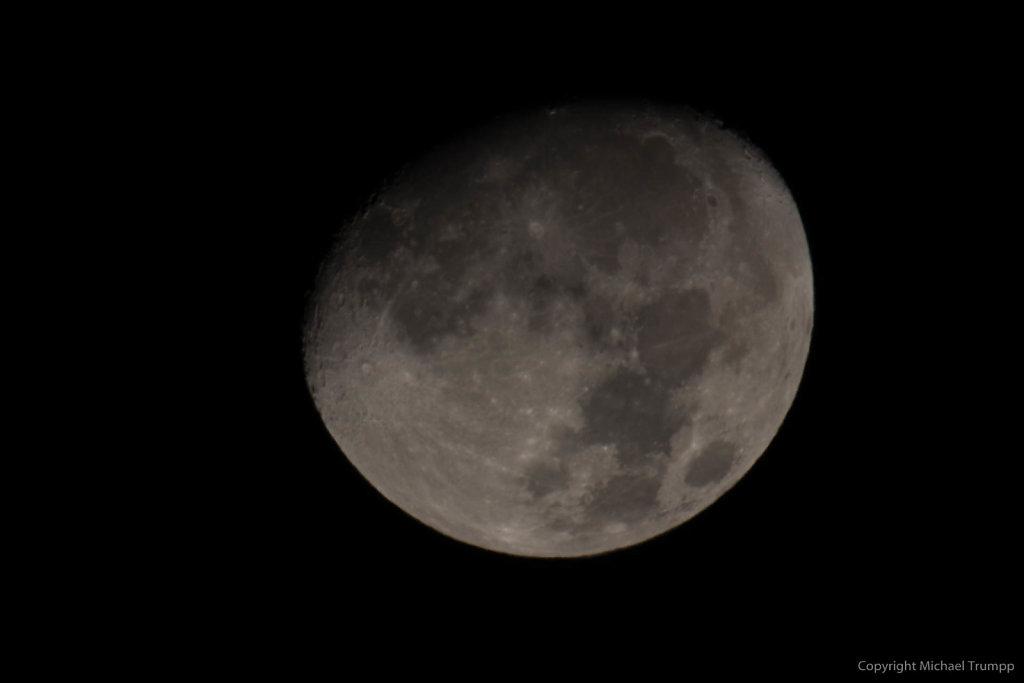 Mond mit Sigma 150-600mm Sport und 2x III unbearbeitet