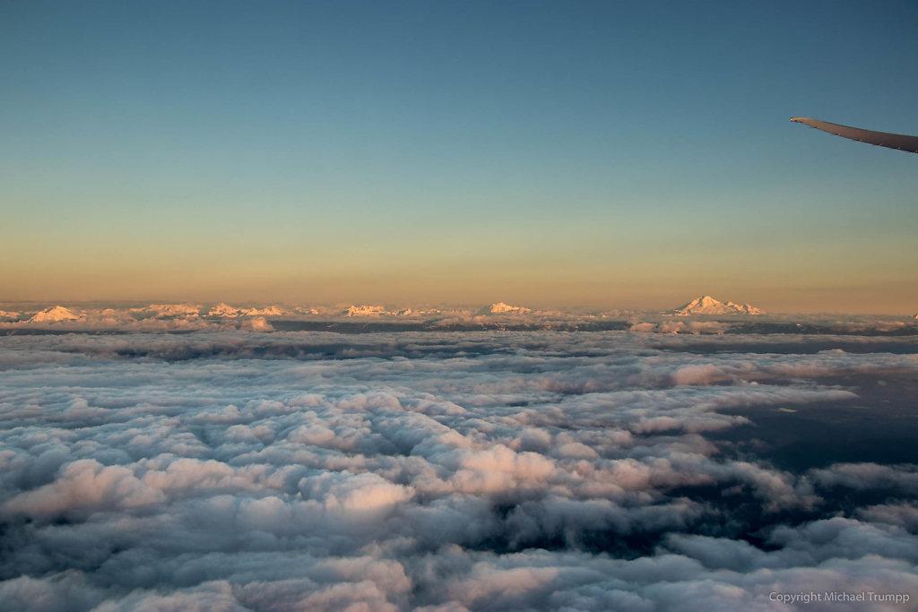 Landeanflug auf Vancouver